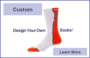 Custom Socks Online - Custom Socks INK